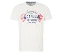 T-Shirt Americana, Print, Rundhals
