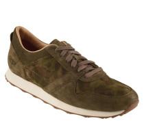 """Sneaker """"Trigo"""", Camouflage-Design, Veloursleder"""