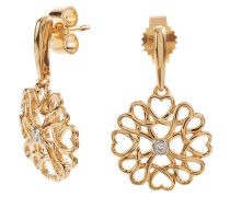 Diamant-Ohrstecker Gold 375