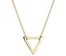 Halskette Dreieck Geo Minimal 925 Sterling Silber Mirjam