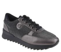 Sneaker, Blumenmuster, Glitzer-Effekt