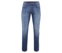 "Jeans ""Madison"", Modern Fit, Washed-Optik, Blau"