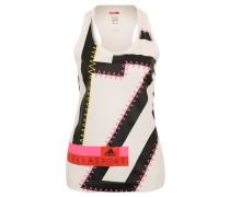 Sport-Top, Print, Racerback, UV-Schutz, für Damen, Weiß