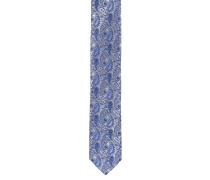 Krawatte, schmal, Seide, fantasievolles Design