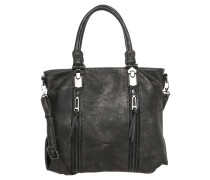 Handtasche, Lederoptik, Reißverschlusstaschen