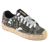 "Sneaker ""Ivye"", Canvas, Patches, Glitzer-Effekte, Espadrilles-Stil"