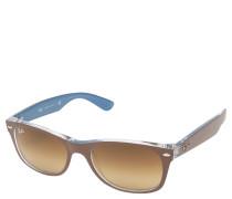 "Sonnenbrille ""RB 2132 New Wayfarer"", Bicolor-Design, Verlaufsgläser"