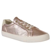 "Sneaker ""Alice"", Metallic-Look, Leder, Rosa"