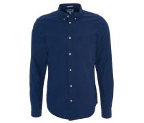 Freizeithemd, Button-Down-Kragen, Baumwolle, Brusttasche