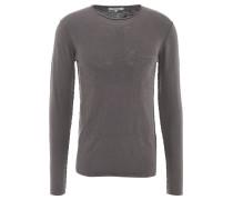 Pullover, Baumwolle, verlängerter Rücken, Inside-Out-Look