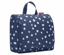 "Kosmetiktasche ""Toiletbag XL"", Spots Navy, 4 l, Blau"