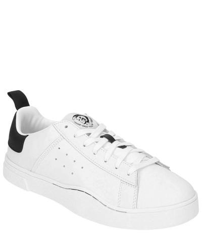 "Sneaker ""S-Clever Low"", Leder, Ton-in-Ton-Nähte"