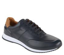 "Sneaker ""Legacy Runn Burs"", Leder, Schnürung, Blau"