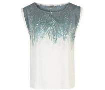 Bluse, T-Shirt-Stil, ärmellos