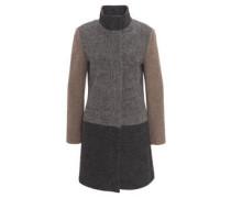 Mantel, Stehkragen, Wolle