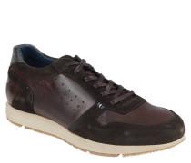 Sneaker, Materialmix, Loch-Muster