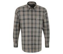 Hemd, Langarm, Regular Fit, Button-Down-Kragen