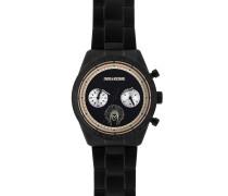 Armbanduhr ZVM122, Schwarz