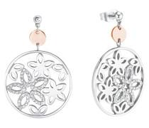 Damen-Ohrringe mit Swarovski® Kristallen Blume