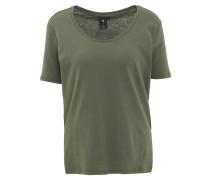 T-Shirt, verlängerte Rückenpartie, uni