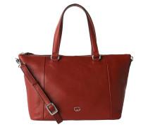 """Handtasche """"Andalucia"""", Glattleder, Emblem, Schultergurt, Rot"""