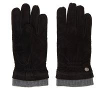 Handschuhe, Leder-Optik