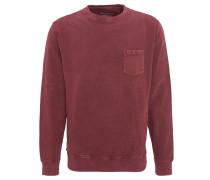 Sweatshirt, Brusttasche, Used-Waschungen, Bündchen
