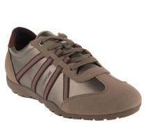 "Sneaker ""Ravex"", Metallic-Look, zweifarbig"