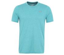T-Shirt, meliert, Heatgear-Technologie, Grün