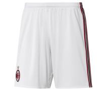 AC Mailand Shorts Home Replica, 2017/18, atmungsaktiv, Weiß
