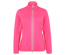 Trainings-Jacke, atmungsaktiv, Strass, Pink