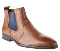 """Chelsea Boots """"Dylan"""", Leder, Reißverschluss, Braun"""