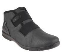 "Boots ""Traveler"", Glitzer-Optik, Gummischnallen, Schwarz"