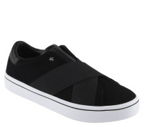 Sneaker, Veloursleder, Elastik-Bänder, sternförmige Nieten