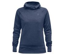 """Sweatshirt """"High Coast"""", meliert, Kapuze, für Damen, Blau"""