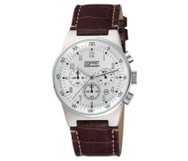 Herrenuhr Chronograph EQUALIZER SILVER CHRONO