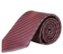 OLMYP Krawatte, reine Seide, gestreift