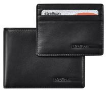 Geldbörse, Leder, Set, Kreditkartenhalter, Querformat
