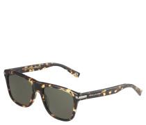 Sonnenbrille, Wayfarer-Stil, Havanna-Look, Filterkategorie 3