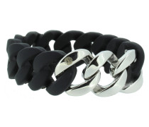 "Armband ""Original"" 106778 Edelstahl schwarz silber"