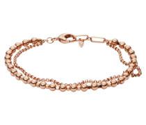 Armband, Fashion, Metall, rosegold, JA6776791