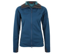 "Outdoorjacke ""Ultimate"", GORE Windstopper, für Damen, Blau"
