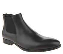 """Chelsea Boots """"Albert"""", Glattleder, einfarbiges Design, Schwarz"""