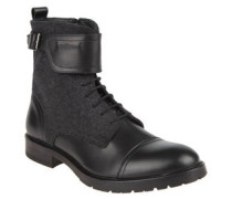 """Stiefel """"New Browne"""", Material-Mix, Schnalle"""