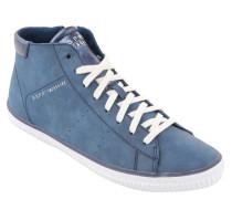 Sneaker, Reißverschluss, Metallic-Lasche