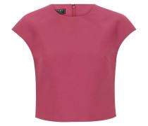 Top, kastenförmig, cropped, Reißverschluss hinten, Pink