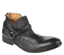 "Boots ""Hague"", Leder, Riemen, Vintage-Look"