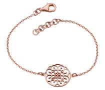Armband Ornament Silber rosevergoldet 16 + 2cm ERB-ORNA-R