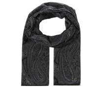 Schal, Paisley-Design, Fransen, wasserabweisend