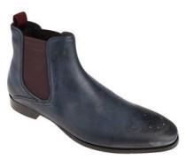 Chelsea Boots, rahmengenäht, Lochung